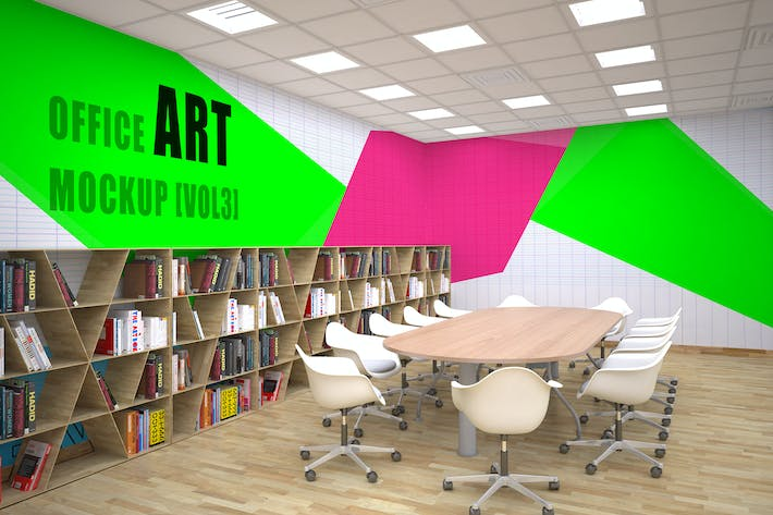 Office Art Mockup [Vol 3]