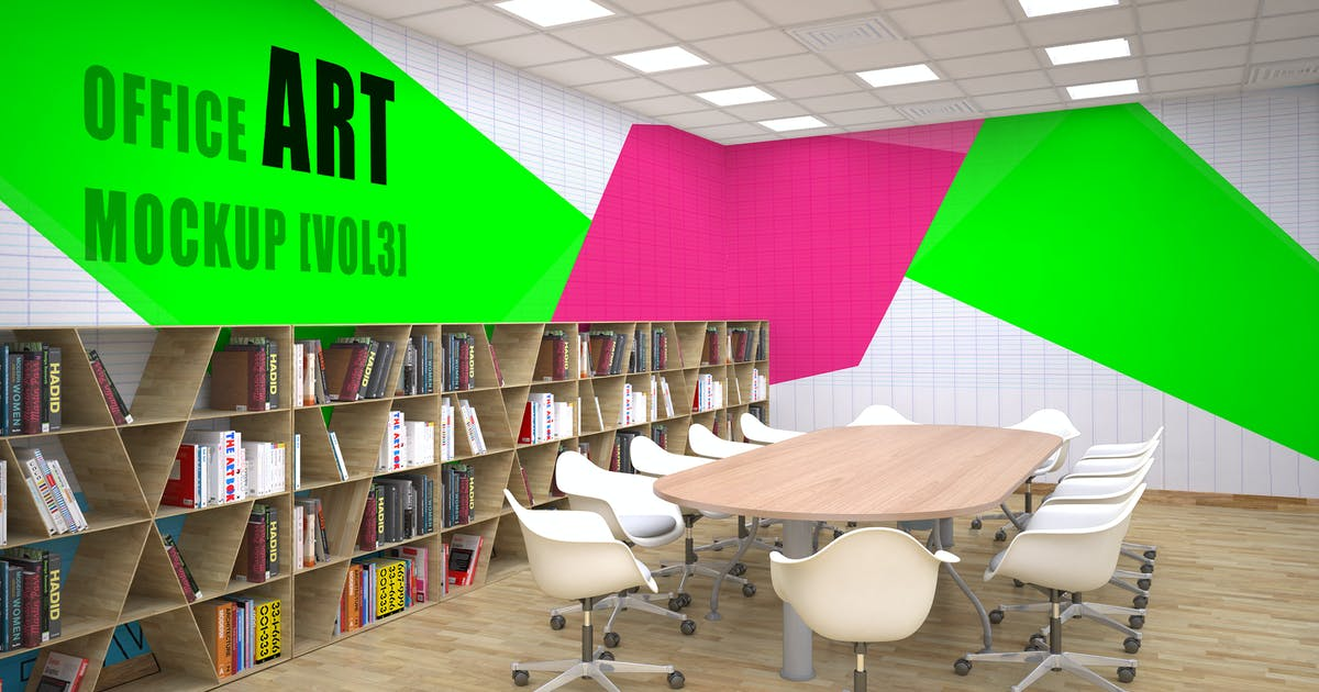 Download Office Art Mockup [Vol 3] by sherlockholmes
