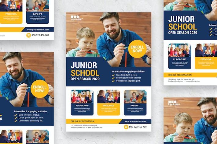 Thumbnail for Kids Education - Poster