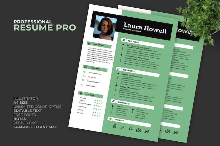 Thumbnail for Laura Lebenslauf/Lebenslauf Vorlage Pro