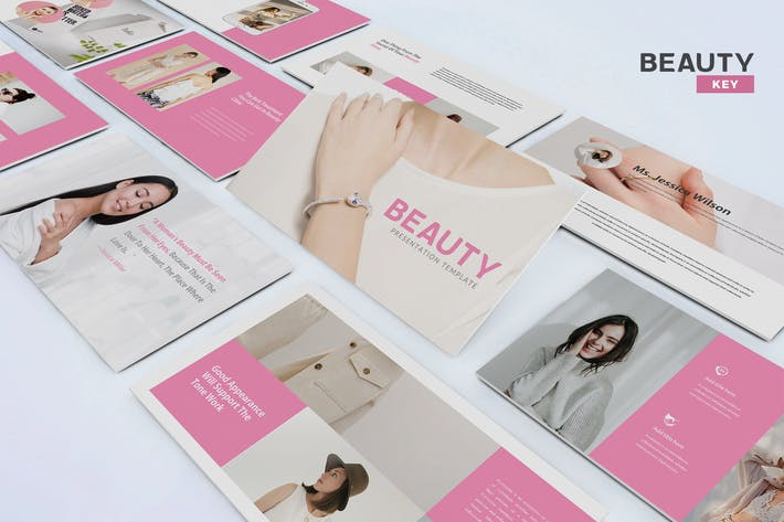 Thumbnail for Beauty - KeynoteTemplate