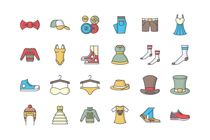 Thumbnail for 31 Clothing Icons
