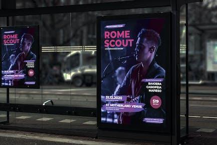 Artist Music Event Poster YR