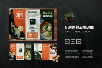Dimsum Heaven - Restaurant Menu
