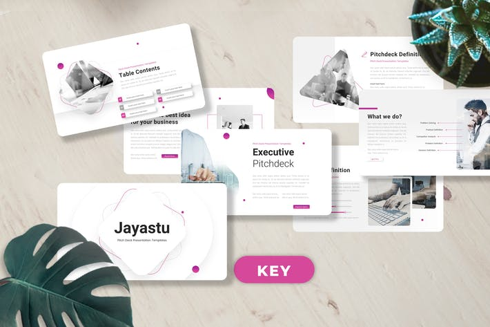 Jayastu - Шаблоны Keynote Pitch Deck