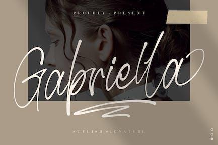 Gabriella Stylish Wedding Font