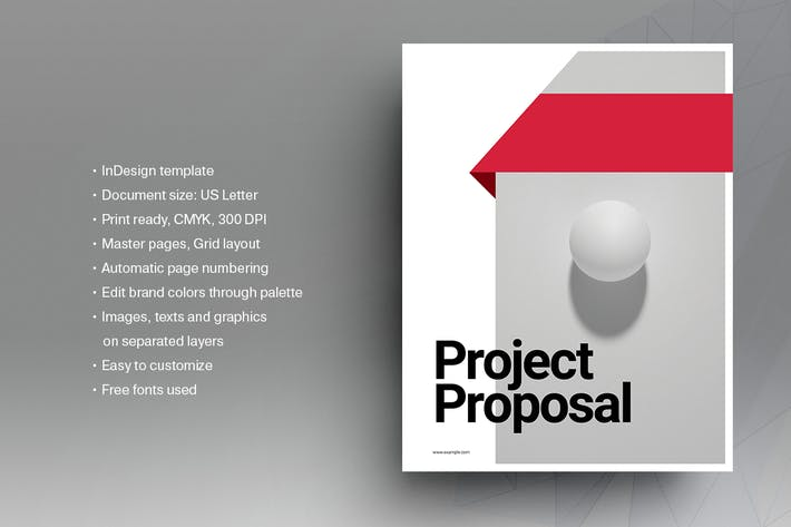 Thumbnail for Business Proposal Brochure Template
