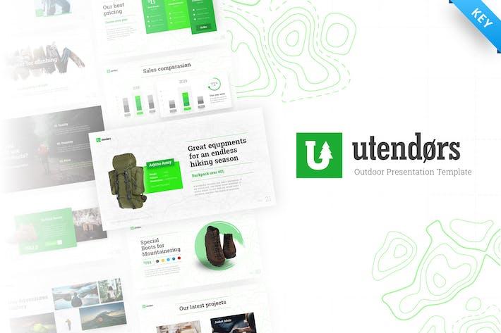Thumbnail for Utendors Multipurpose Outdoors Keynote Template