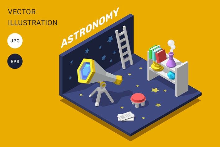 Thumbnail for 3d astronomy room
