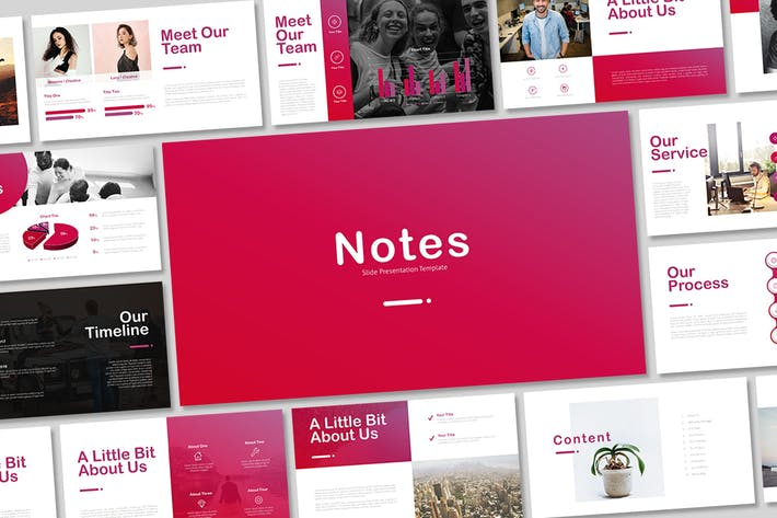 Thumbnail for Notes-Google Slides Template