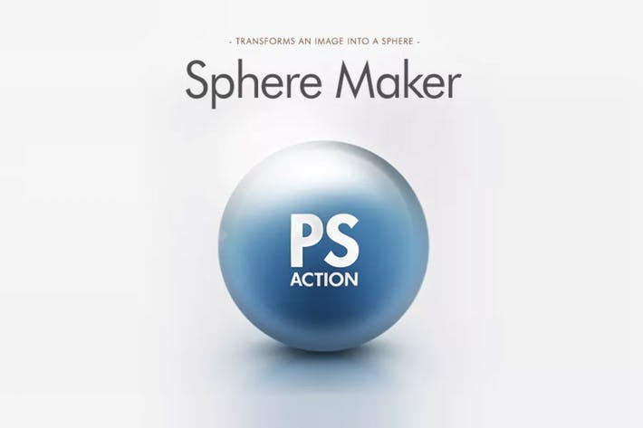 Thumbnail for Sphere Maker Photoshop Action