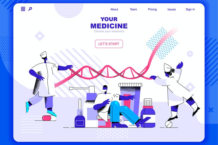 Medicine Flat Concept Landing Page Header