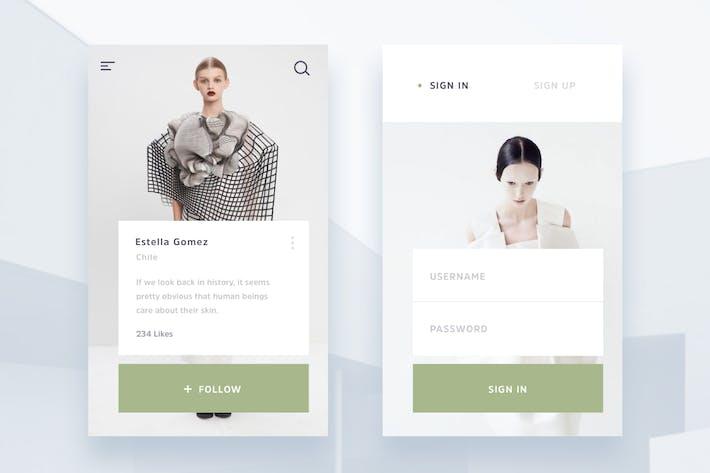 Thumbnail for Modern Minimal Fashion App