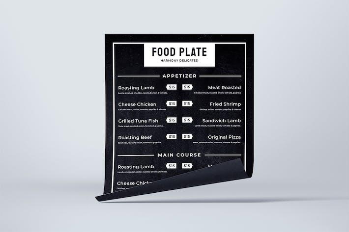 Thumbnail for Blackboard Food Menu. 03