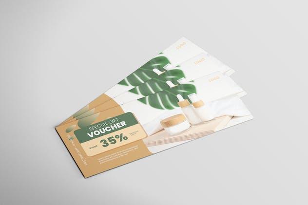 Skincare - Voucher Design
