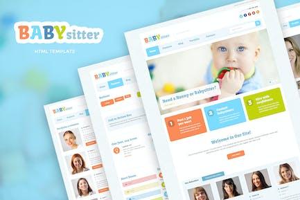 Babysitter - Job Board HTML Template