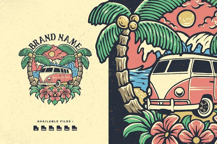 Thumbnail for Sommer Strand Handrawn Logo
