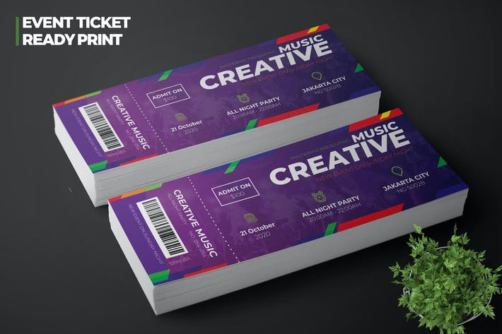 Thumbnail for Music Event Ticket