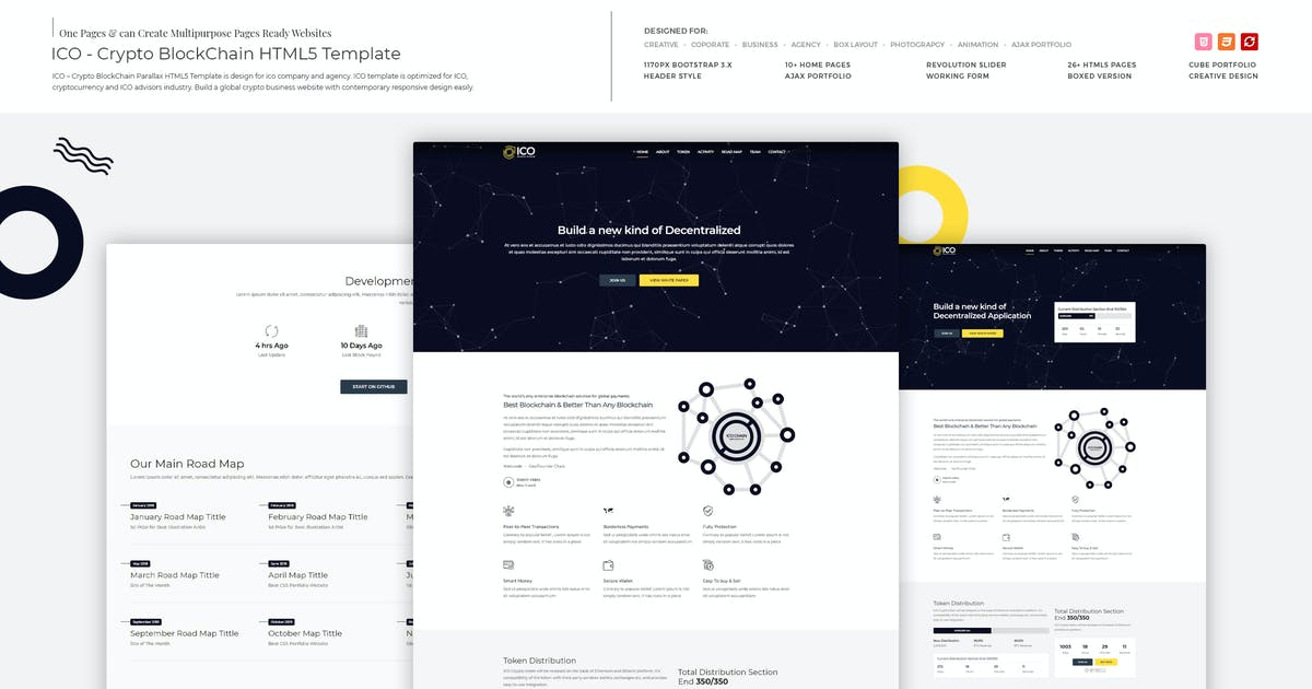 Download ICO - Crypto BlockChain HTML5 Template by M_Adnan
