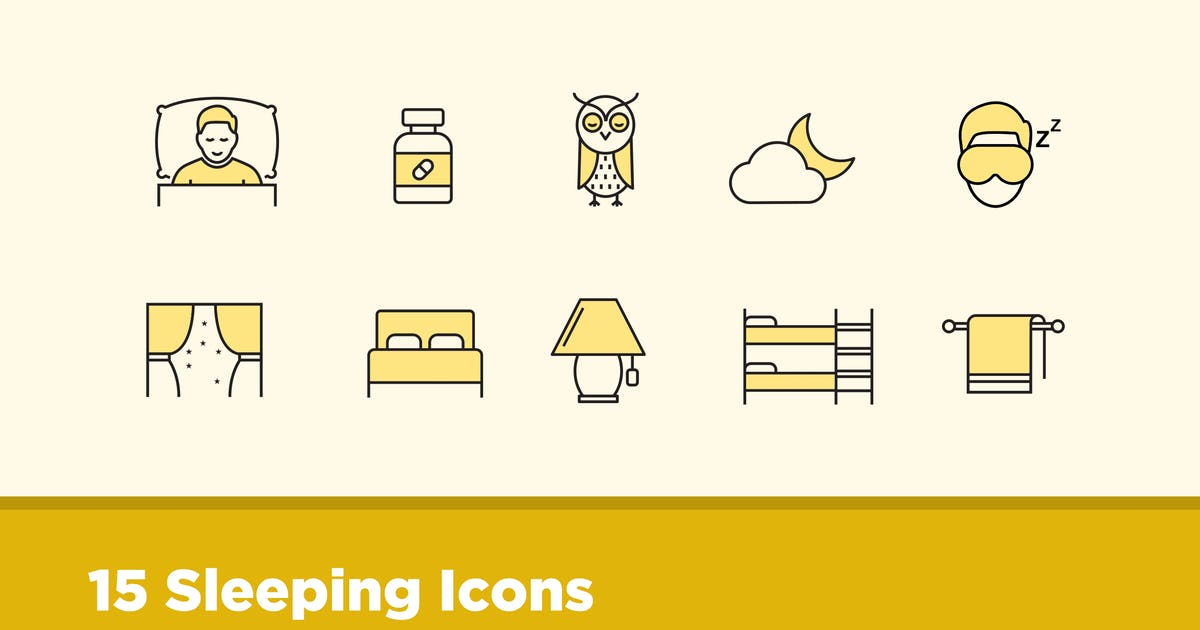 Download 15 Sleeping Icons by creativevip