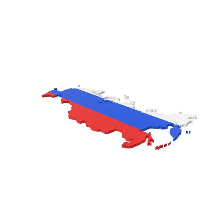 Russland Kontur mit Krim