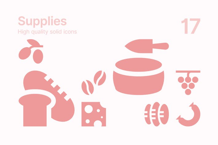 Food Supplies Icons