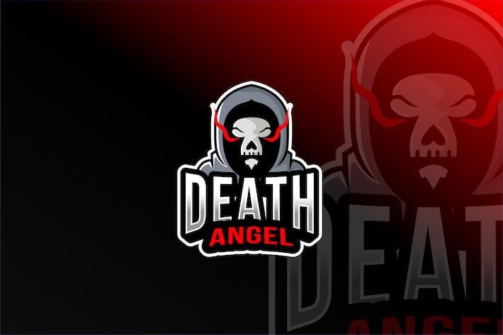 Thumbnail for Death Angel Esport Logo Template