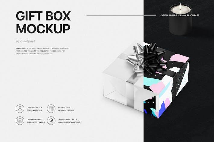 Thumbnail for Gift Box Mockup