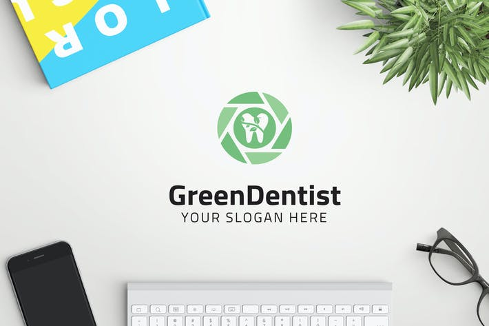Thumbnail for GreenDentist professional logo