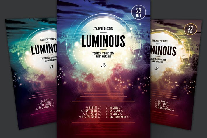 Thumbnail for Luminous 3 Flyer