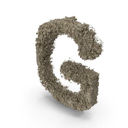 Destruction Stone Buchstabe G