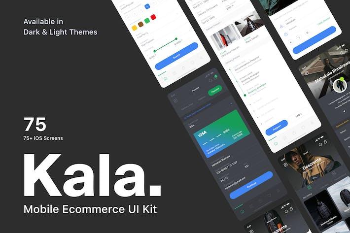 Thumbnail for Kala - Mobile Ecommerce UI Kit