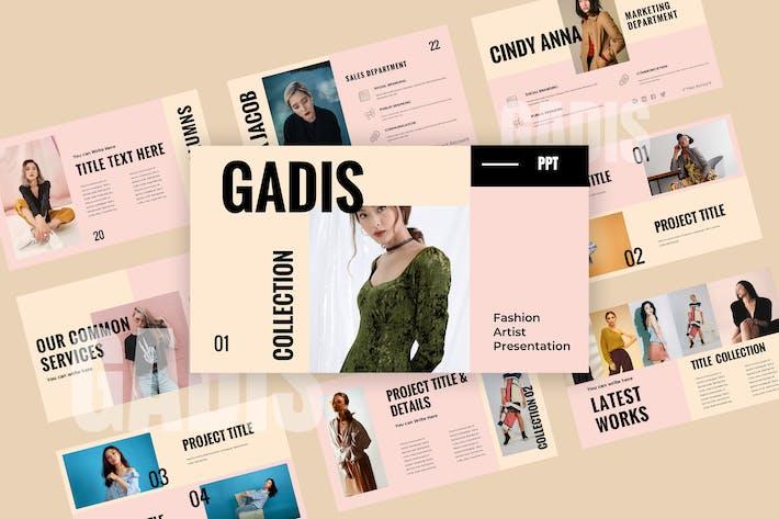 Thumbnail for Gadis - Powerpoint Presentation