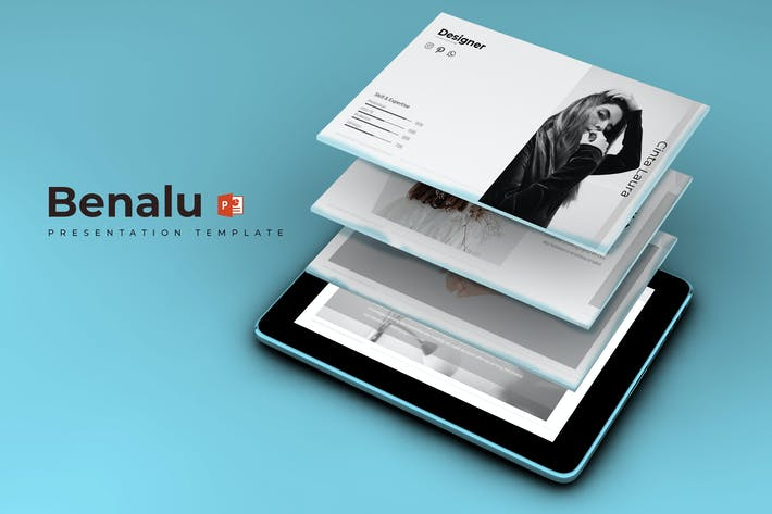 Thumbnail for Benalu - Powerpoint Template
