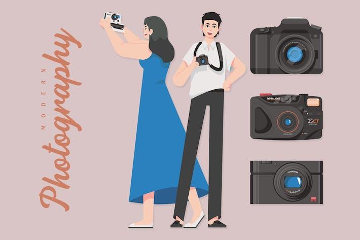 Thumbnail for Photographie moderne - illustrations