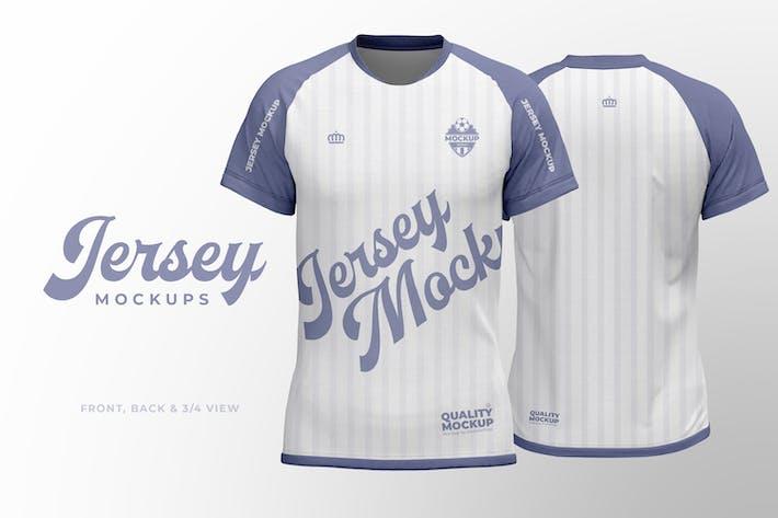Sport Jersey Shirt Mockup