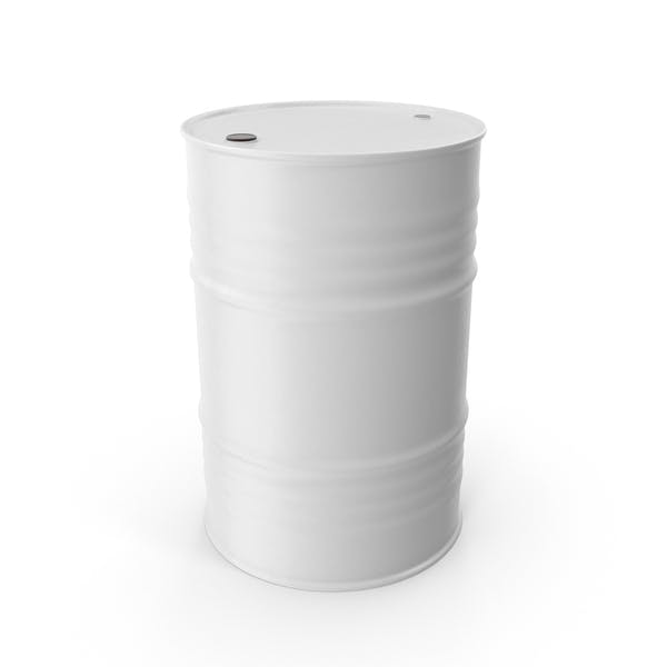 Cover Image for Oil Drum White