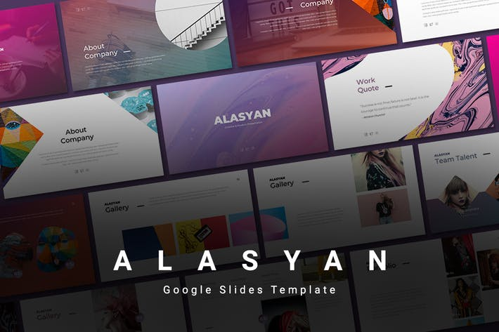 Thumbnail for Alasyan - Google Slides Template