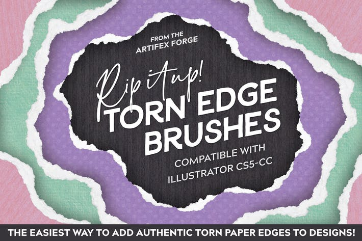Thumbnail for Rip It Up! - Torn Edge Brushes
