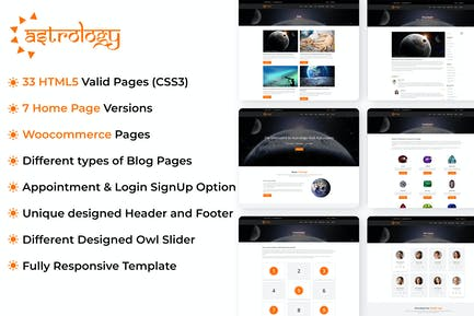 Astrology Site Template