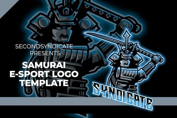 Samurai Esport Gaming Logo