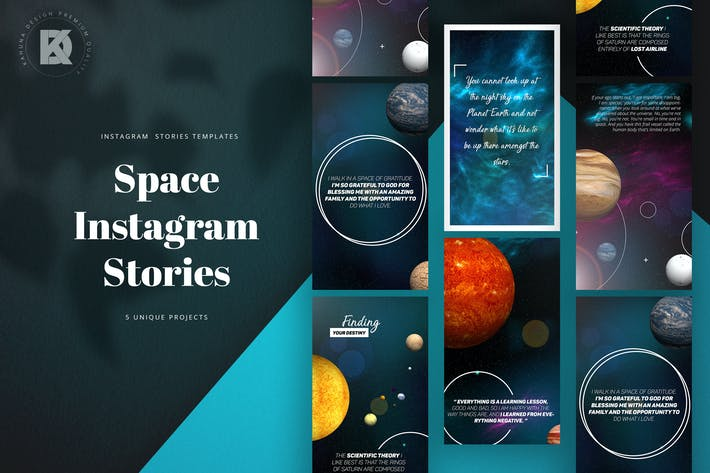 Thumbnail for Space Instagram Stories