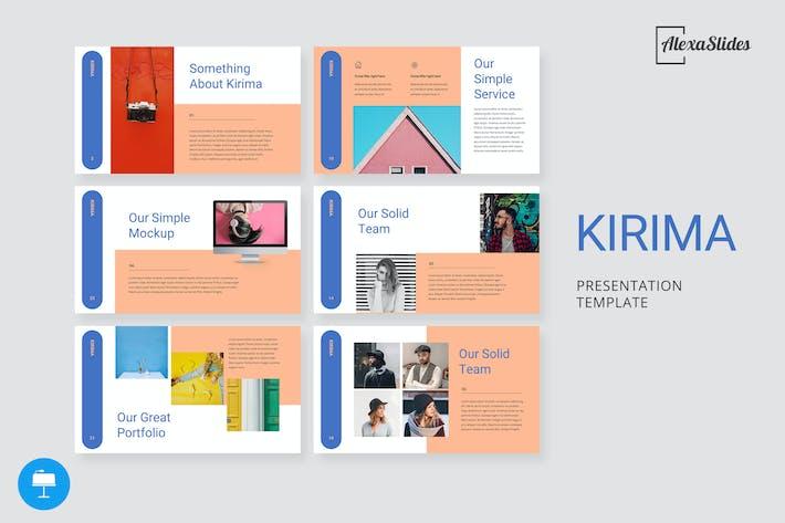 Thumbnail for Kirima - Creative Keynote Template