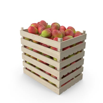 Wooden Crates with Mango