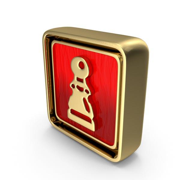 Pawn Icon Gold