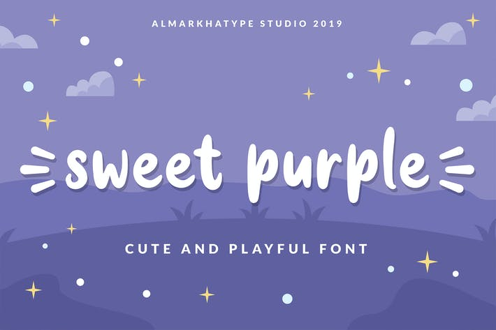 Thumbnail for Sweet Purple - fuente divertida