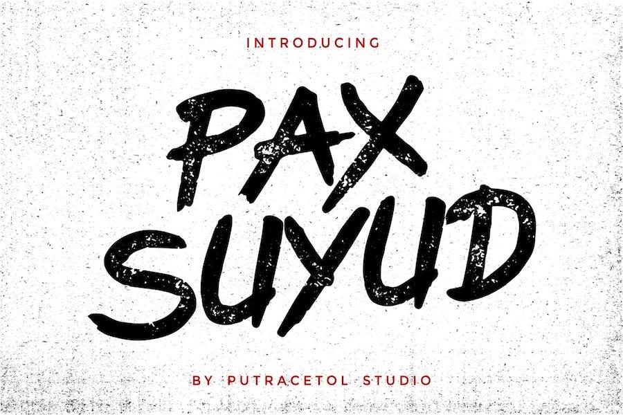 Pax Suyud - Pincel + Fuente áspera