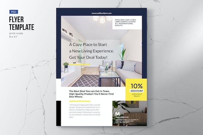 Thumbnail for Elegant Furniture & Interior Flyer