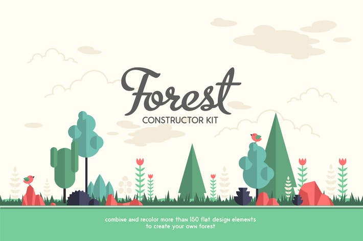 Cover Image For Forest Constructor Kit