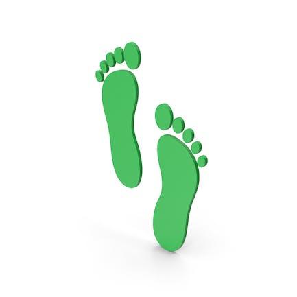 Symbol Footprint Green